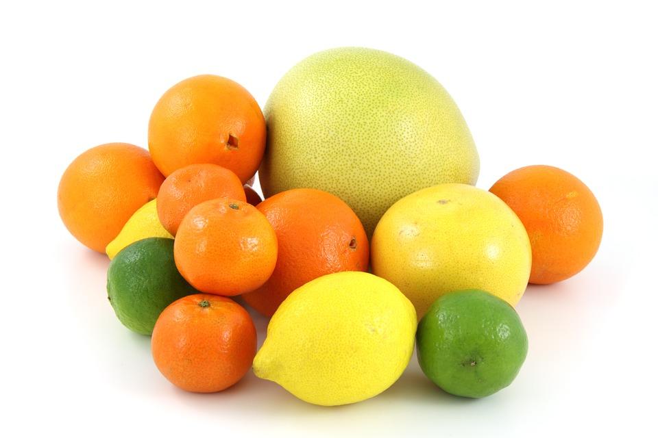 Цитрусовые - продукты богатые фолиевой кислотой