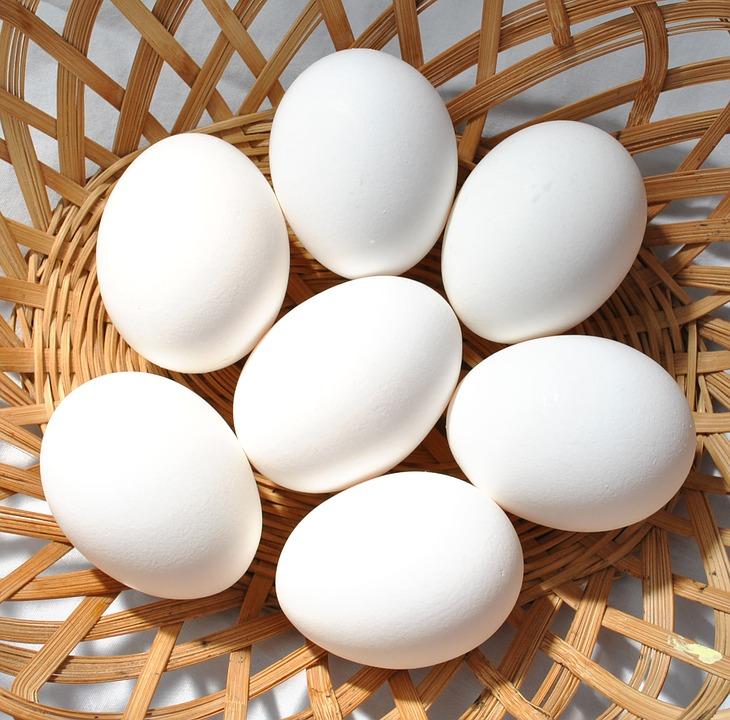 Маска для лица с белком яйца для сияющей кожи