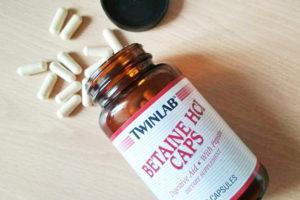 Бетаин – препарат для оздоровления организма