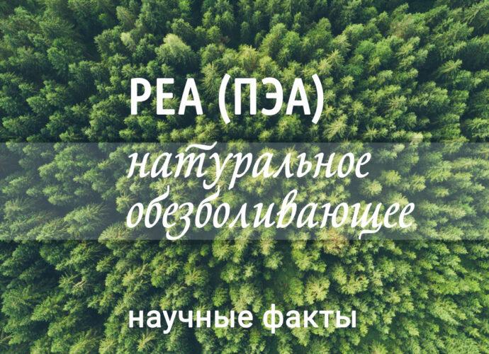 PEA ПЭА для уменбшения боли